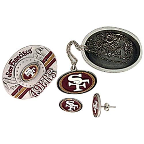 deals san francisco 49ers four in one jewelry box