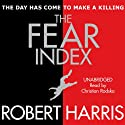 The Fear Index Audiobook by Robert Harris Narrated by Christian Rodska