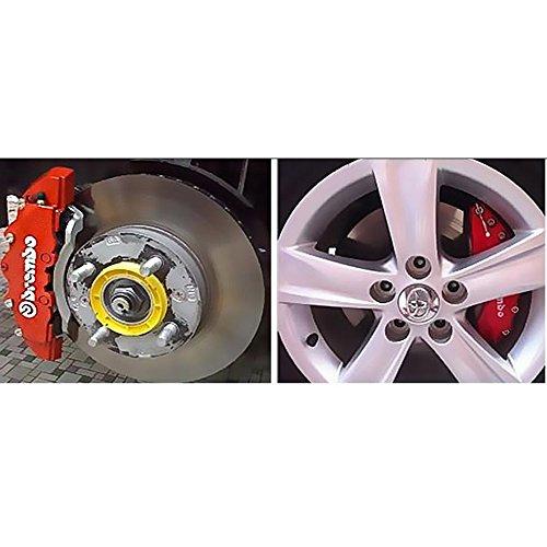 Plastic Measuring Caliper Covers : Plexxa disc brake caliper cover small size pcs front