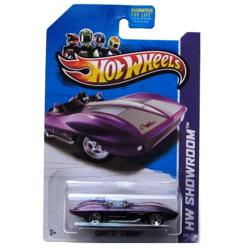Corvette Stingray '13 Hot Wheels 203/250 (Purple) Vehicle