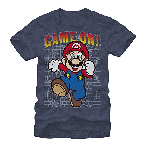 Nintendo Mario Game On Mens Graphic T Shirt - Fifth Sun