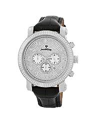 "JBW-Just Bling Men's JB-6231L-B ""Victor"" 1.80 Carat Oversized 50MM Diamond Watch"