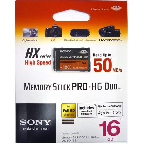 Sony 16 GB Pro Duo Memory Card