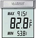 La Crosse Technology WS-1025 Digital Window Thermometer with...