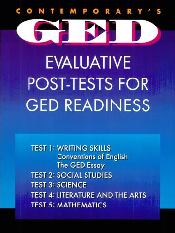Contemporary's Ged Evaluative Post-Tests for Ged Readiness