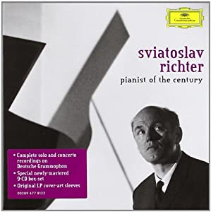 Sviatoslav Richter : Pianist of the Century (Coffret 9 CD)