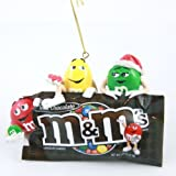 M&M's Characters Brown Bag Ornament