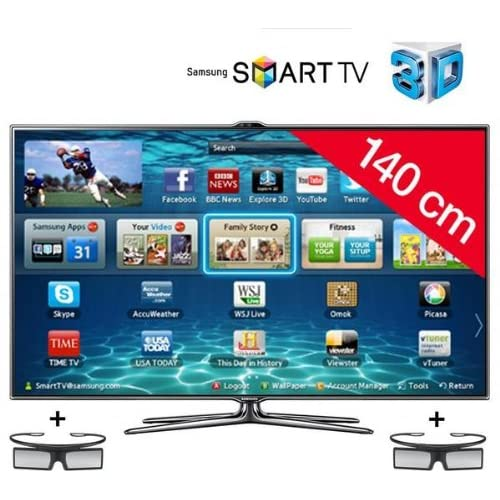 TV 3D 55 pouces SAMSUNGUE55ES7000NOIR55\