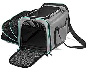 Pawdle Expandable and Foldable Pet Carrier Domestic