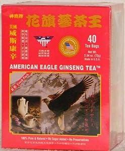 American Eagle Ginseng Tea 40 Bags