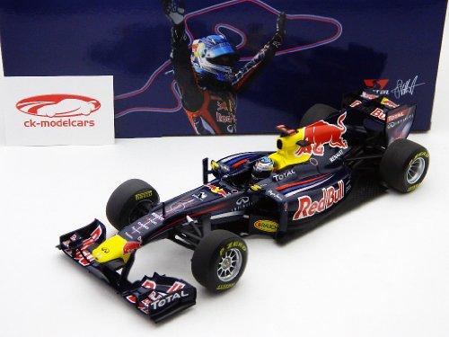 「MINICHAMPS」RED BULL RACING F1 TEAM 2011 SHOWCAR 1:18ニュルブルクリンク特注モデル S.ベッテル