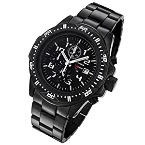 Armour Lite Professional Series Citizen Miyota OS60 Black Dial Men's Analog Watch #AL AL45-B