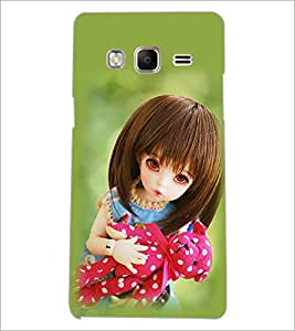 PrintDhaba Beautiful Doll D-1073 Back Case Cover for SAMSUNG Z3 (Multi-Coloured)