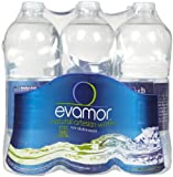 Evamor Natural Alkaline Artesian Water, 64-ounce Bottles (Pack of 6)
