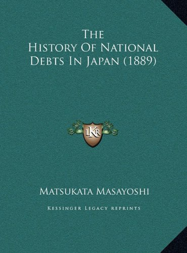 The History of National Debts in Japan (1889)