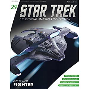 Star Trek Starships Collection #29 Model & Magazine - Jem'Hadar Fighter