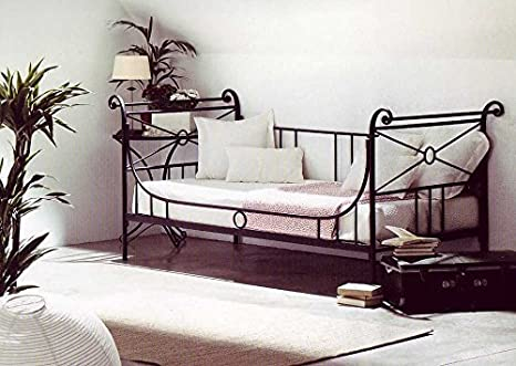 Divan Bed with Backrest Forge Athena - Christmas Decoration