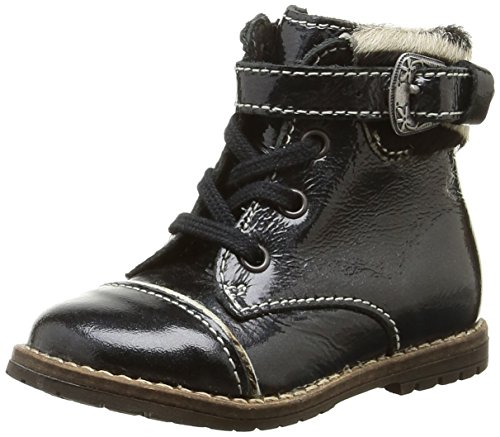 Little Mary - Tresor, Baby Shoes per bimbi, Nero (Noir (Vernis Fripe Noir)), 19