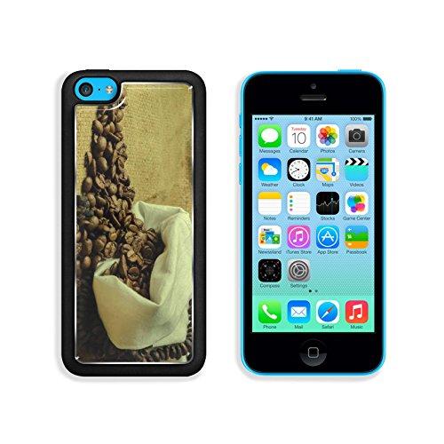 Coffee Beans In Burlap Sack 3Dcom Iphone 5C Cover Premium Aluminium Design Tpu Case Open Ports Customized Made To Order