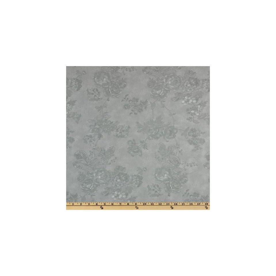 Moda Park Avenue Floral 108 Quilt Backing Lexington Blue Fabric By The Yard