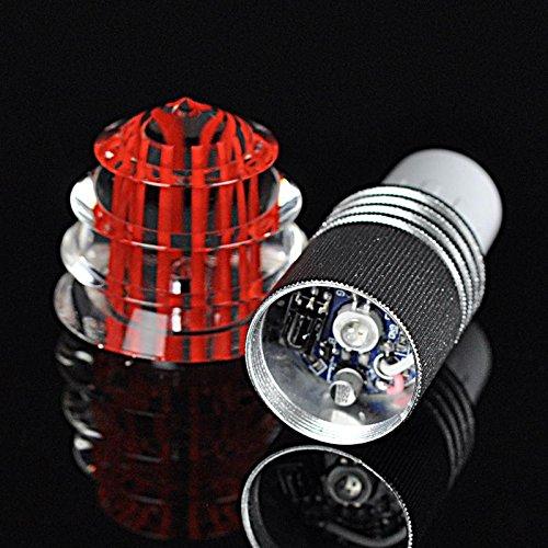 1 morceaux RGB 3W No?l led dšŠcoration cristal lampe lumiššre menšŠe de cristal spots vacances lumiššres dšŠcoratives tšŠlšŠcommande, E27