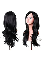 Hmxpls Long Heat Resistant Cosplay Wig