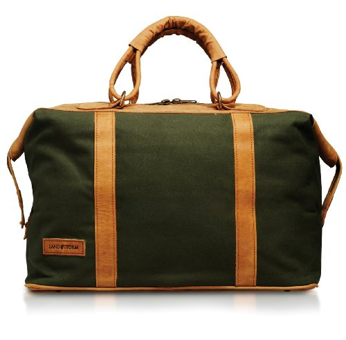 Odyssey Large Canvas Holdall (green)
