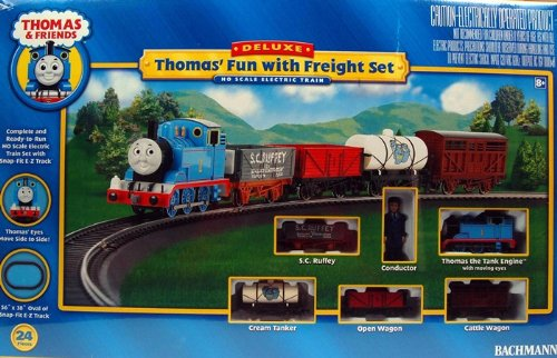 Bachmann Trains Thomas Fun with Freight Set Ready - To - Run Ho Scale Train Set