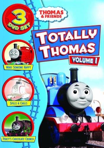 Thomas The Tank Engine And Friends 3 Disc Set (Make Someone Happy/Spills & Chills/Percy's Chocolate Crunch)