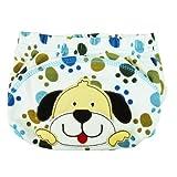 La vogue bebé capa impermeable lavable algodón à3-12kg Imprimé taillem cachorro