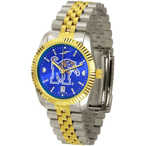 Suntime Memphis Tigers Ncaa Anochrome Executive Mens Watch