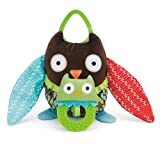 Skip Hop Hug and Hide Stroller Toy, Owl