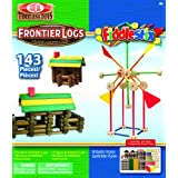POOF-Slinky 143FLBL Ideal Frontier Logs And Fiddlestix Set With Storage Box 75-Frontier Logs And 68-Fiddlestix...