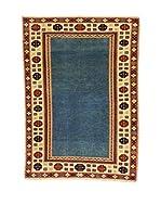 L'Eden del Tappeto Alfombra Shirvan Beige / Azul 142 x 199 cm