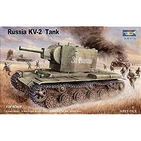 Trumpeter 1/35 Russian KV-2 Heavy Tank - 312