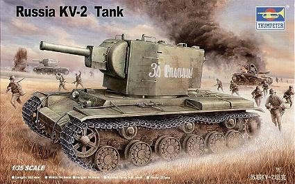 Trumpeter 1/35 Soviet KV2 Tank (1 35 Russian Tank compare prices)