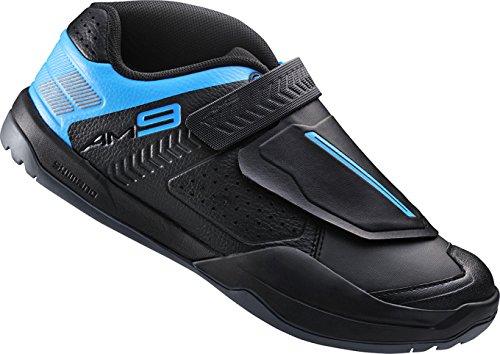 Shimano, Scarpe per ciclismo All Mountain Unisex adulto SH-AM9 GR. SPD, Nero, 44