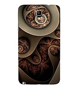 ETHNIC ASSORTED JEWELS PIC 3D Hard Polycarbonate Designer Back Case Cover for Samsung Galaxy Note 3 Neo N7505