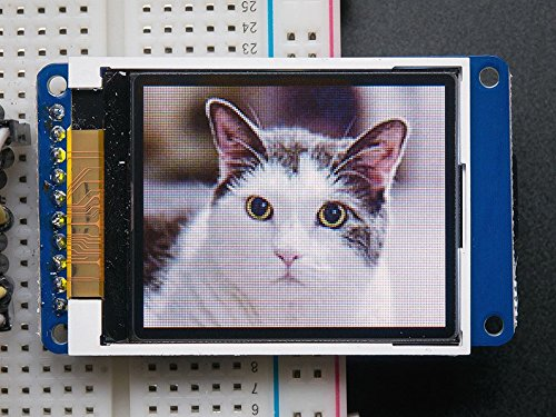 Adafruit 1.8 inch TFT LCD Display with MicroSD Card Breakout (128x160, 18 Bit)