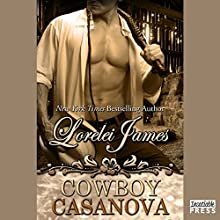 Cowboy Casanova: Rough Riders Series, Book 12 (       UNABRIDGED) by Lorelei James Narrated by Rebecca Estrella