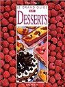 Le grand guide des desserts par Vergne