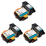 3 X Set of Kodak 10 Black & Colour Compatible ink cartridges for ESP3 ESP5 ESP7 ESP9 5000 5100 5200 5300 5500 3250 5210 5250 6150 7250 9250 HERO 7.1 HERO 9.1 Office HERO 6.1 Printer