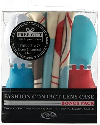 Beyond Optics Fashion Contact Lens Case Bonus Pack