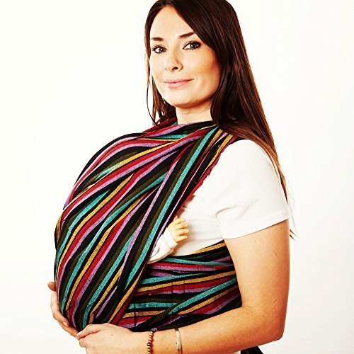 Handmade Woven Wrap Baby Carrier for Infants and Toddlers (Jungle) by Hip Baby Wrap LLC [並行輸入品]