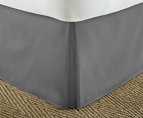 Buy Cheap Home Collection Luxury Pleated Bed Skirt Dust Ruffle