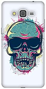 The Racoon Grip Tripster Skull hard plastic printed back case/cover for Samsung Galaxy Grand Prime