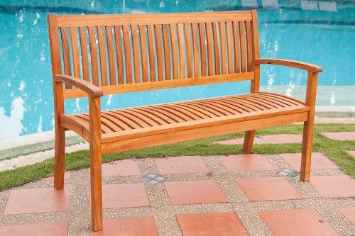 3 Sitzer Gartenbank ca. 150 x 55 cm Sevilla, Akazie massiv günstig bestellen