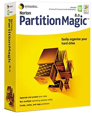 Norton Partition Magic 8.0