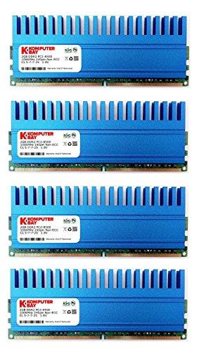 komputerbay-8gb-4x2gb-ddr2-dimm-240-pin-1066mhz-pc2-8500-kit-8-gb-con-crown-series-dissipatori-di-ca