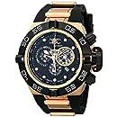 Invicta Men's 6575 Subaqua Noma IV Collection Chronograph Black Polyurethane Watch